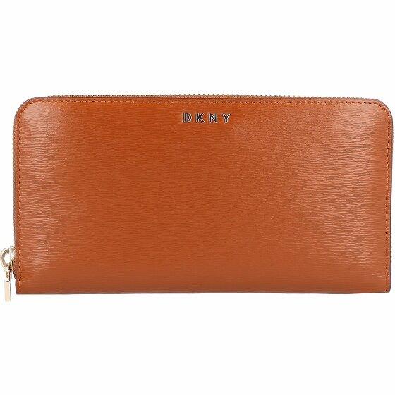 Dkny bryant portemonnaie cuir 19 cm caramel