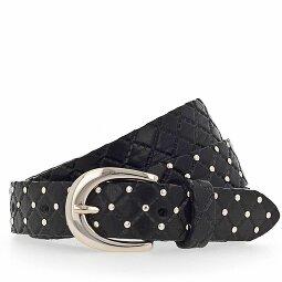 belt vintage ceinture avec bijoux ferme B pâle rose